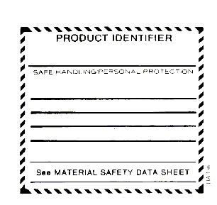 Whmis supplier label for Whmis labels template